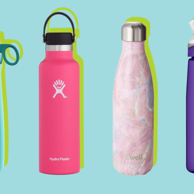 Aluminum Water Bottles and Plastic Liners